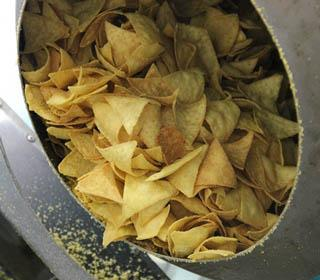 Chips production line