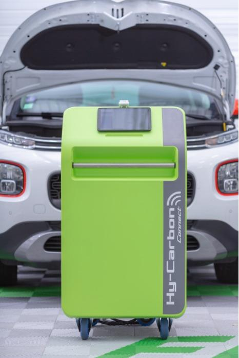 Descaling machine • Hy-Carbon Connect - Descaling via hydrogen injection