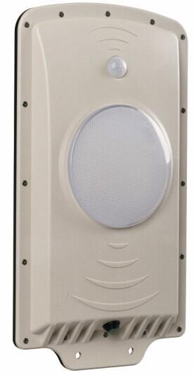 Luminária LED Solar 6W 4500mA C/ Sensores