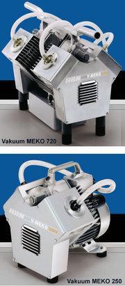 Membran-Vakuumpumpen - Vakuum-Meko 500/600/720 / 250/300/400