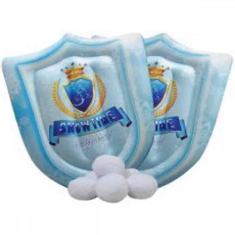12x Boucliers gonflables + Boules de neige - Jouet et Loisirs