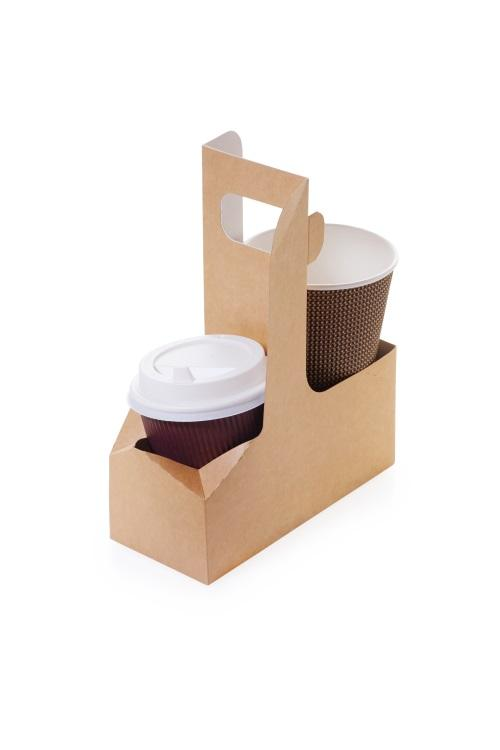 Cup holder and cup wrap