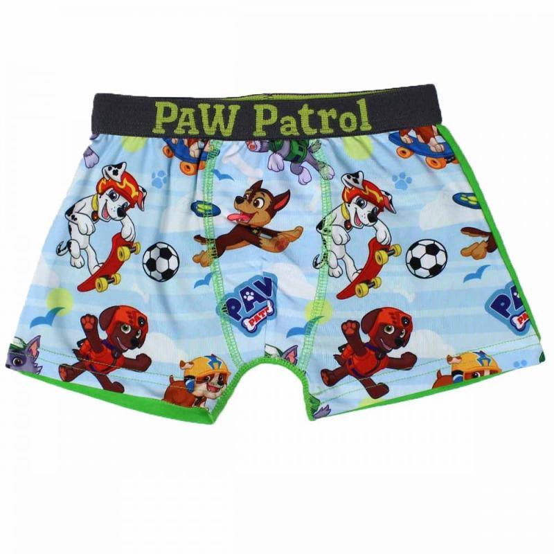 12x Lots de 2 boxers Paw Patrol du 2 au 8 ans - Sous-vêtement
