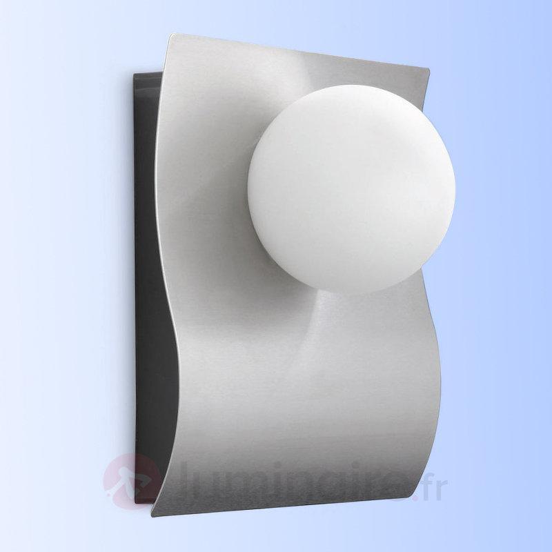 Applique d'extérieur LED arquée Dreamland - Appliques d'extérieur inox