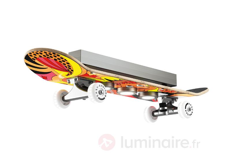 Plafonnier LED Easy Cruiser en skateboard - Plafonniers LED