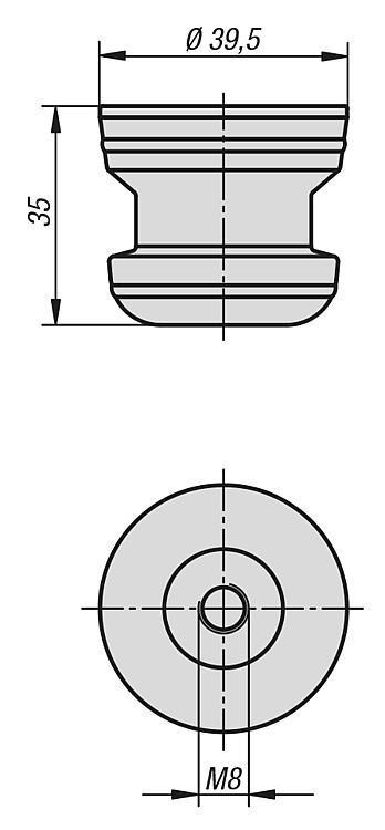 Bouchon de protection - UNI lock