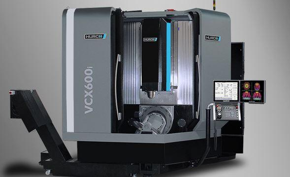 5-Axis-Machining-Center with trunnion table- VCX 600i - 5-axis trunnion table eases 5-sided machining.