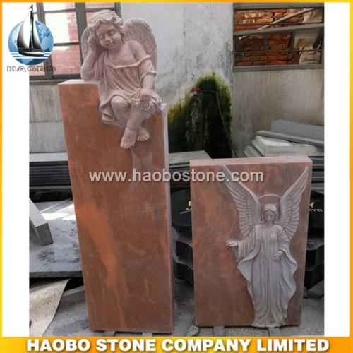 Angel Headstone - Swedish Monument