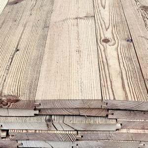 Plancher ancien en sapin/pin - Parquet ancien, plancher ancien