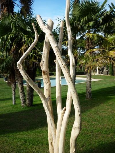 sculpture de branches de bois flott divers mobiliers deco nature france. Black Bedroom Furniture Sets. Home Design Ideas