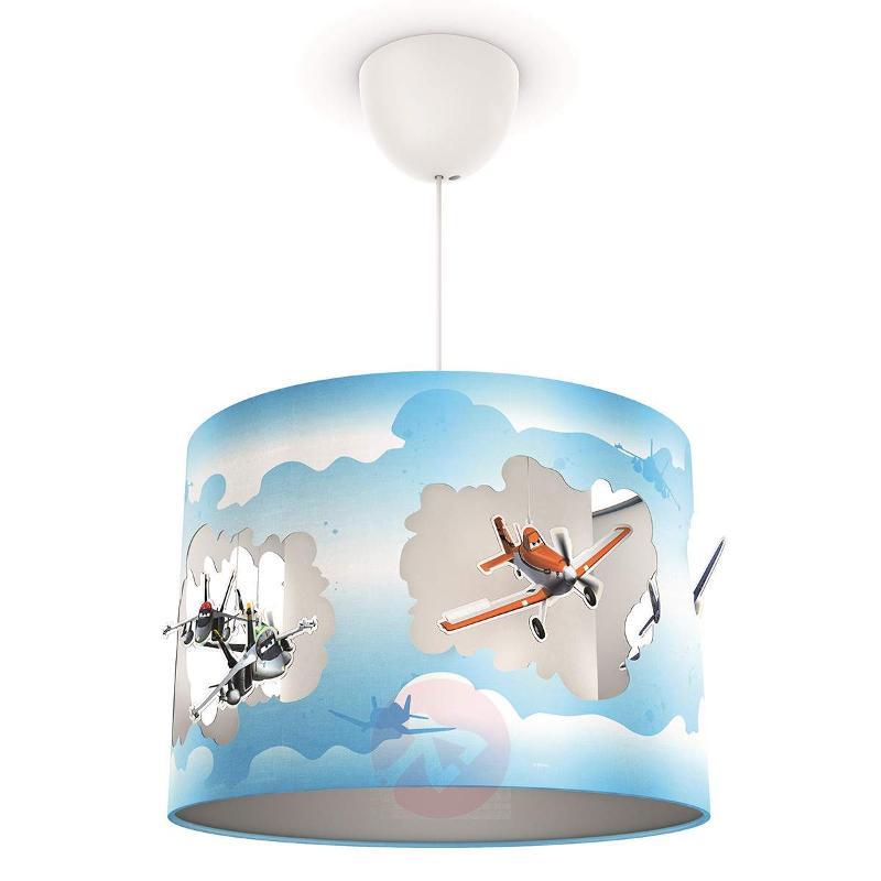 Colourful pendant light for children Planes - Pendant Lighting