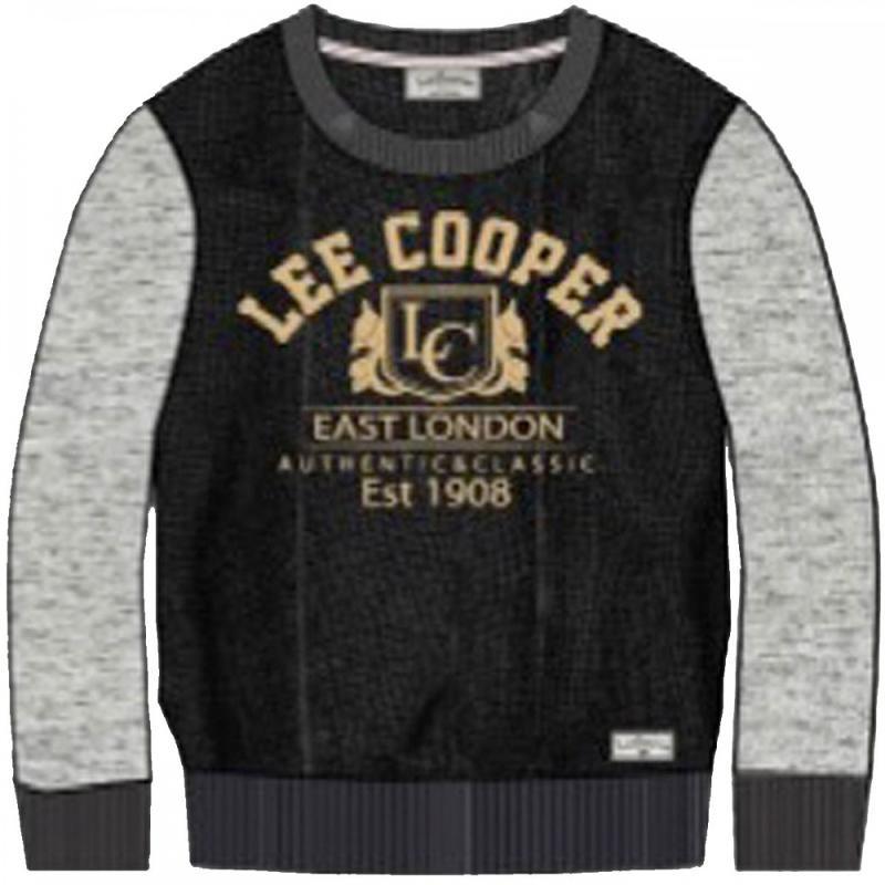 12x Pulls manches longues Lee Cooper du 2 au 12 ans - Sweat Pull et Gilet
