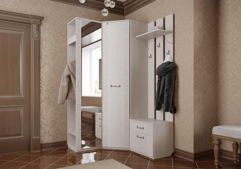 Hallway Elana Bodega-White - Hallway furniture