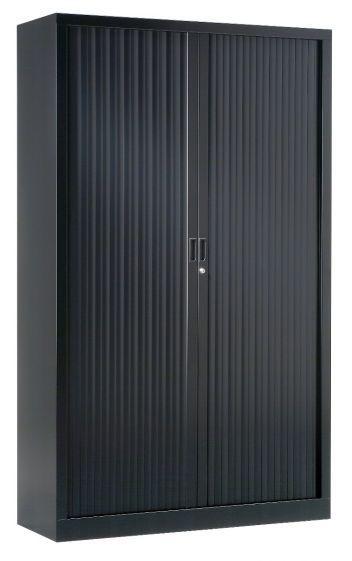 Armoire Haute 1.98 X 1.00 M Rideaux Unis - Équipements De Bureau