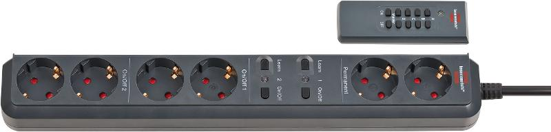 Eco-Line Remote-Controlled Extension Socket RC EL1 - null