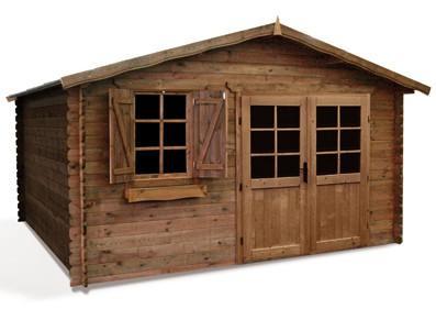 Abri de jardin en bois - Autoclave