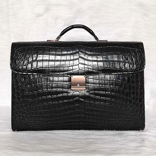 Luxury new design men genuine crocodile leather brifecase bag - Bags
