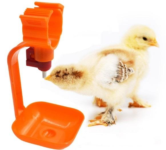 ball type valve poutry/Chick/chicken hanging drinking cup - automatic poultry double nipple drinker for chicken