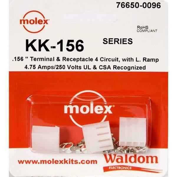 KIT .156 KK SERIES 4 CIRC RAMP - Molex Connector Corporation 76650-0096