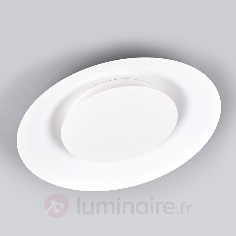 Plafonnier LED Keti blanc, éclairage indirect - Plafonniers LED