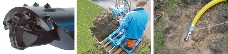 GRUNDOPIT Power - Pipe installation