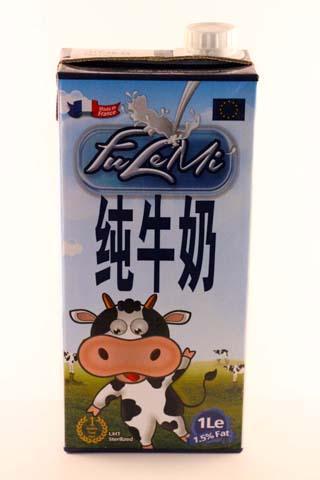 Fulemi Semi Skimmed Milk UHT 1,5%fat, Brick 1L -