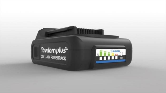 Honsel Rivdom eBZ 3 - Battery-powered riveter specially for setting high-strength blind rivets