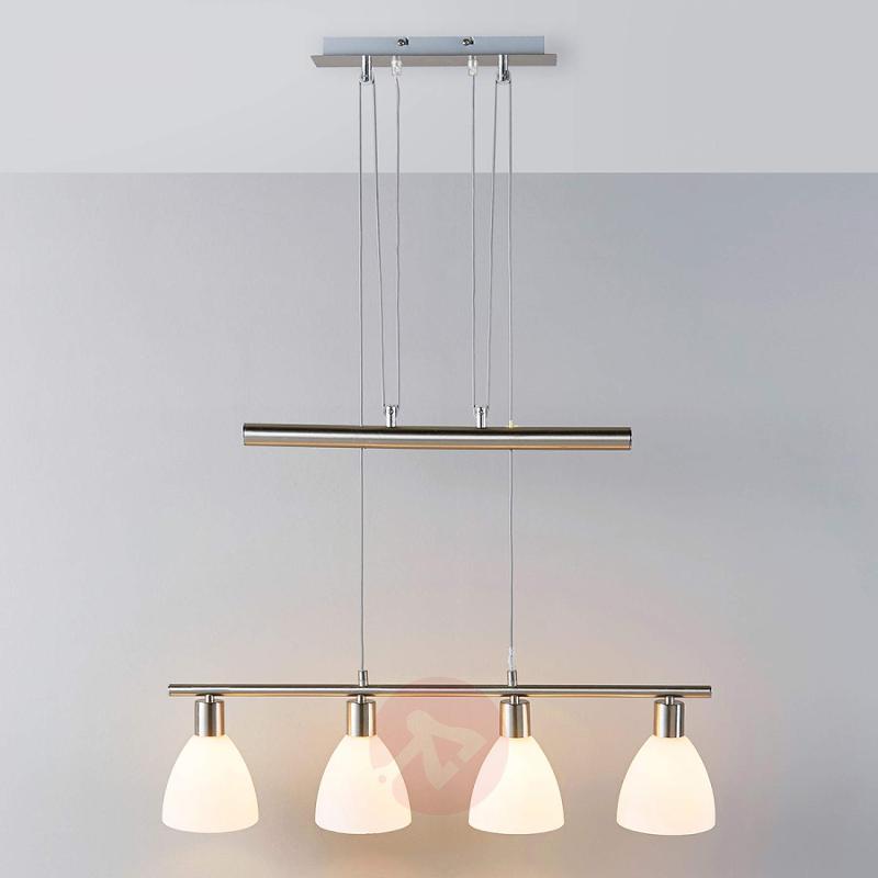 Height-adjustable dining room light Simeon - indoor-lighting