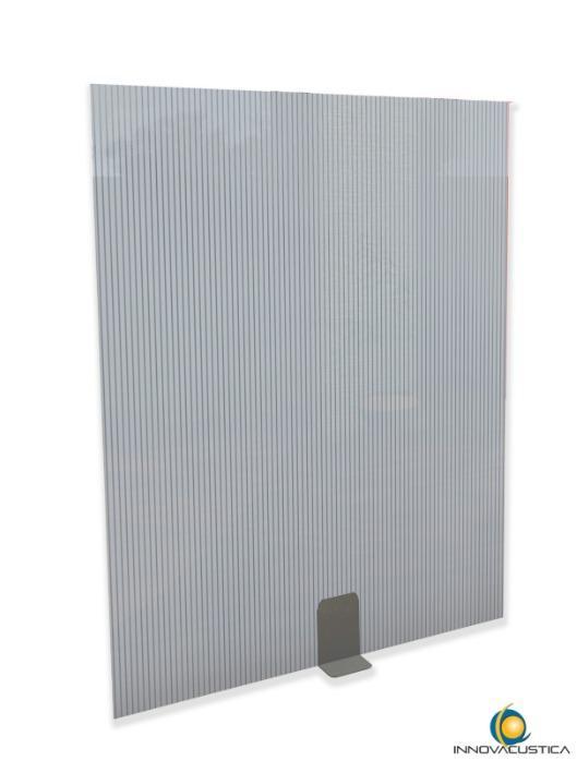 Anti-covid dividing screen - Architectural acoustics