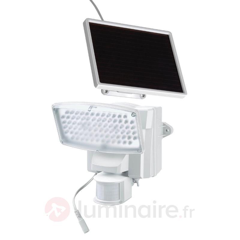 Projecteur LED solaire SOL 80 IP44 blanc - Lampes solaires avec détecteur