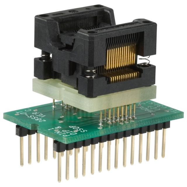 ADAPTER 28-SSOP TO 28-DIP - Logical Systems Inc. PA28SS-OT-6