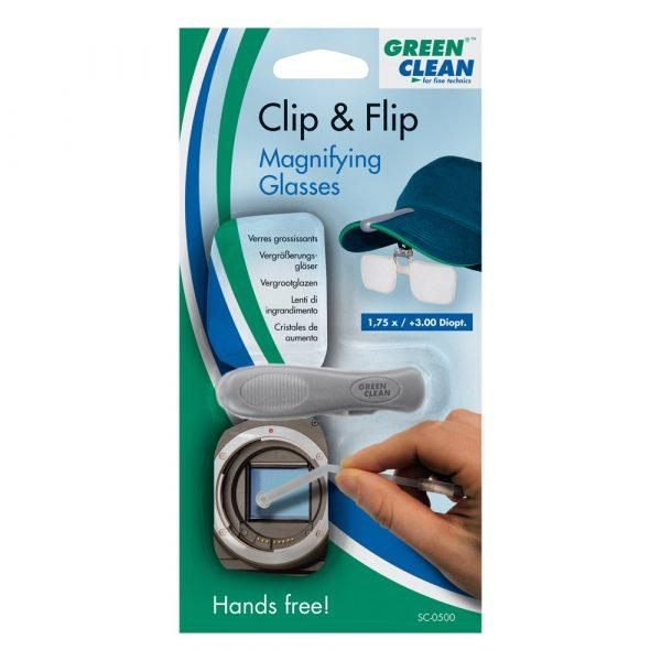 Clip & Flip – The hands free magnifier - null