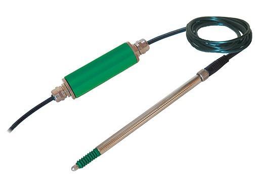 线性位移传感器 - 8739 - 小型传感器,直径仅为8 mm,可安装在受限制的结构中,防震和耐磨,内置IN-LINE放大器或USB接口,用于直接测量位移和间接测量可转换机械值