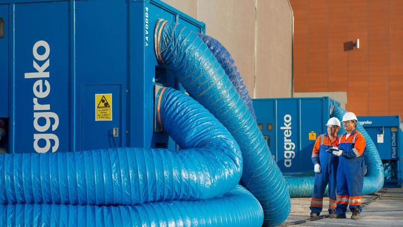Noleggio Di Unità Di Trattamento Dell'aria Industriali - Noleggio Di Apparecchiature Di Raffreddamento