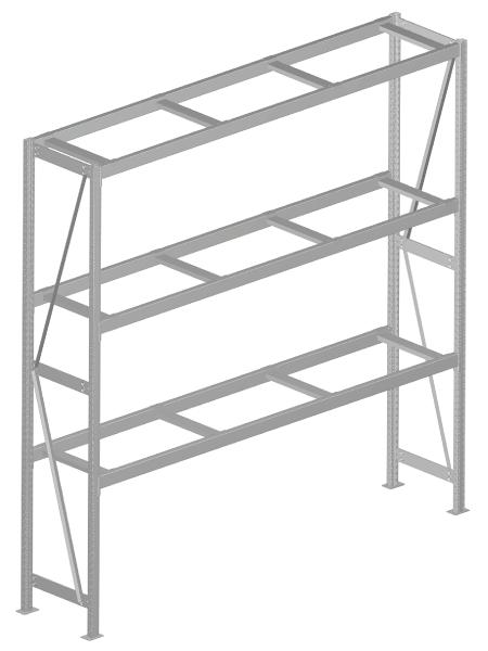 Modular shop rack systems & instore interior shelving design - Rack