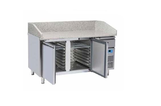 Banco Refrigerato Pizza per Vassoi 600x400