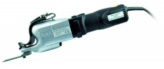 Electronic scraper - HM 10 - 230 V - 230 volts / light version 2,7 kg / half-moon flaker