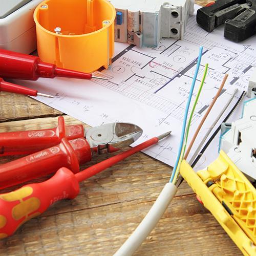 Installationsleitungen -
