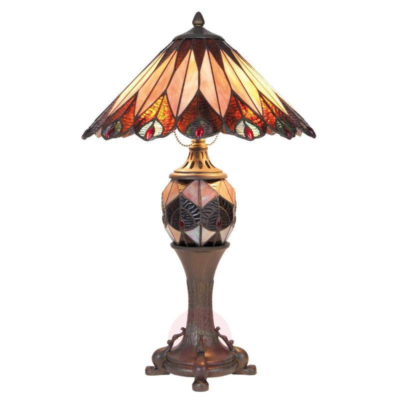 Bella - large table lamp in the Tiffany style - Table Lamps