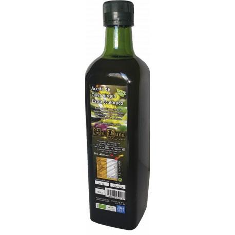 Aceite de Oliva Virgen Extra Ecológico - Cristal 750 ml Ecológico en caja de 12 unidades