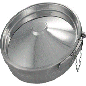 Runde Klappen ringklappen - Runde Klappen ringklappen - Nicht für Druck oder Vakuum geeignet