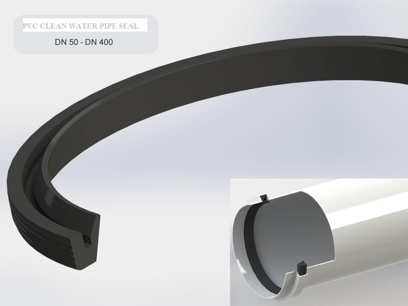 PVC Fresh Water Pipe Seal