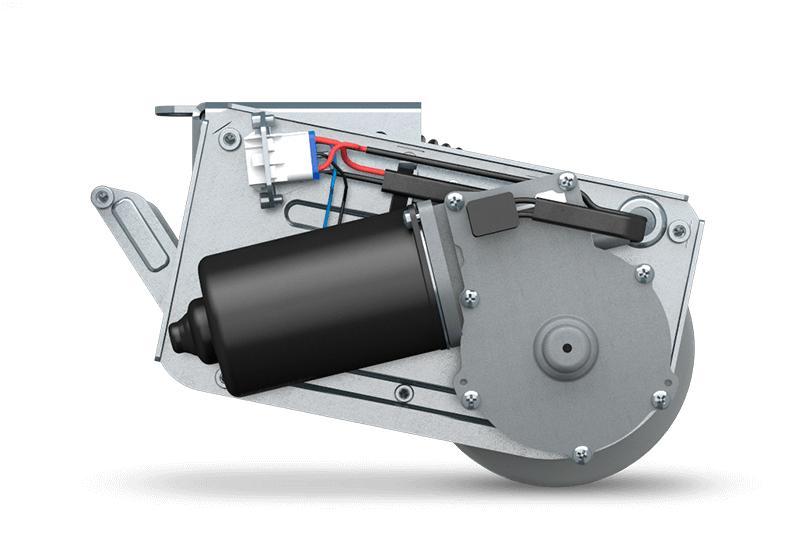 roulette motorisée rétractable - assistance au démarrage et traction continue E-Drive flex