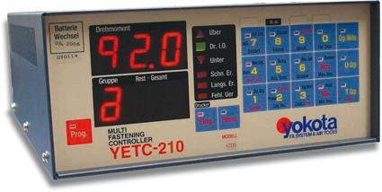 Tightg. System (torque/pulses) - Controller YETC-210
