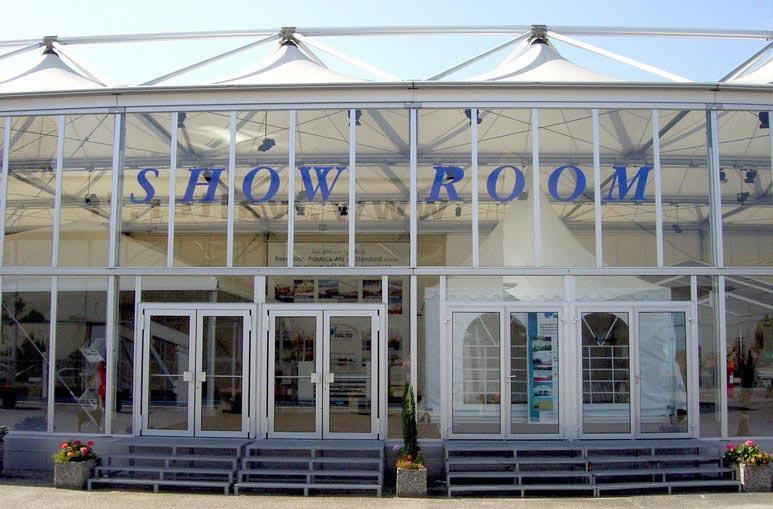 Show room Hall Exposition - Systèmes de construction démontable - Tentes évènementielles