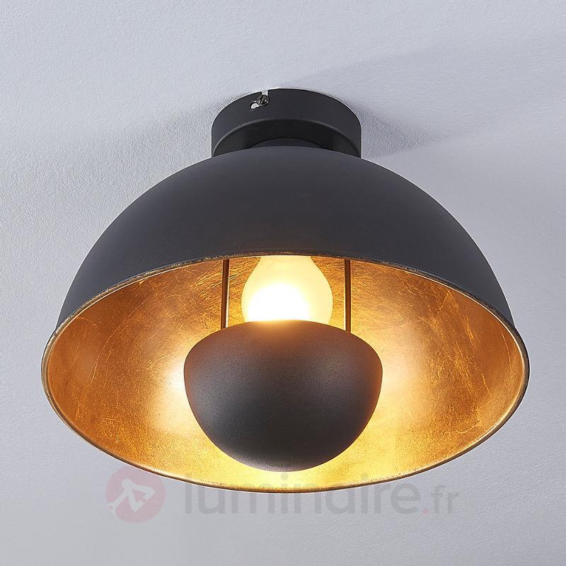 Plafonnier noir-doré Lya - Chambre à coucher