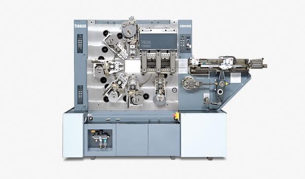 Multi-slide machine - GRM 80E - Univeral stamping and forming machine GRM 80E for large stamped and formed parts