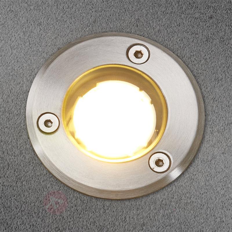 IP67 spot LED encastrable dans le sol Kenan inox - Luminaires LED encastrés au sol