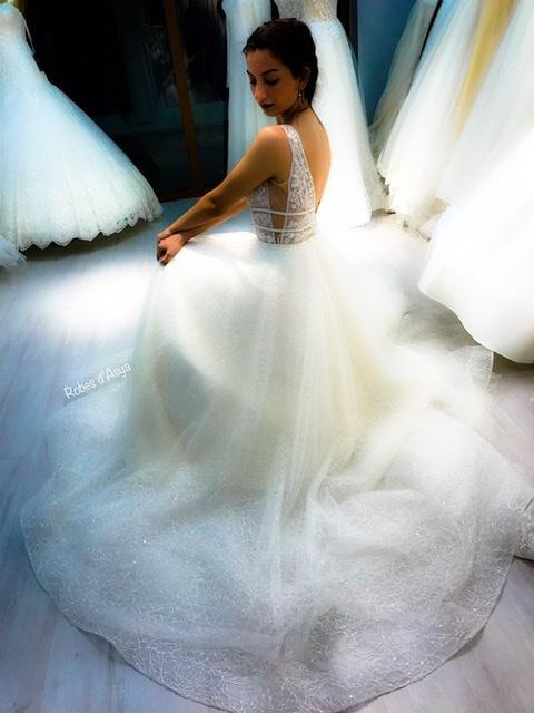 Robe de mariée  - Robe de mariée bohème