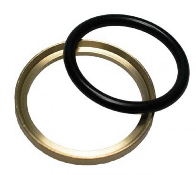 BR 10/14 brake gasket brass - Brass/rubber sealing rings